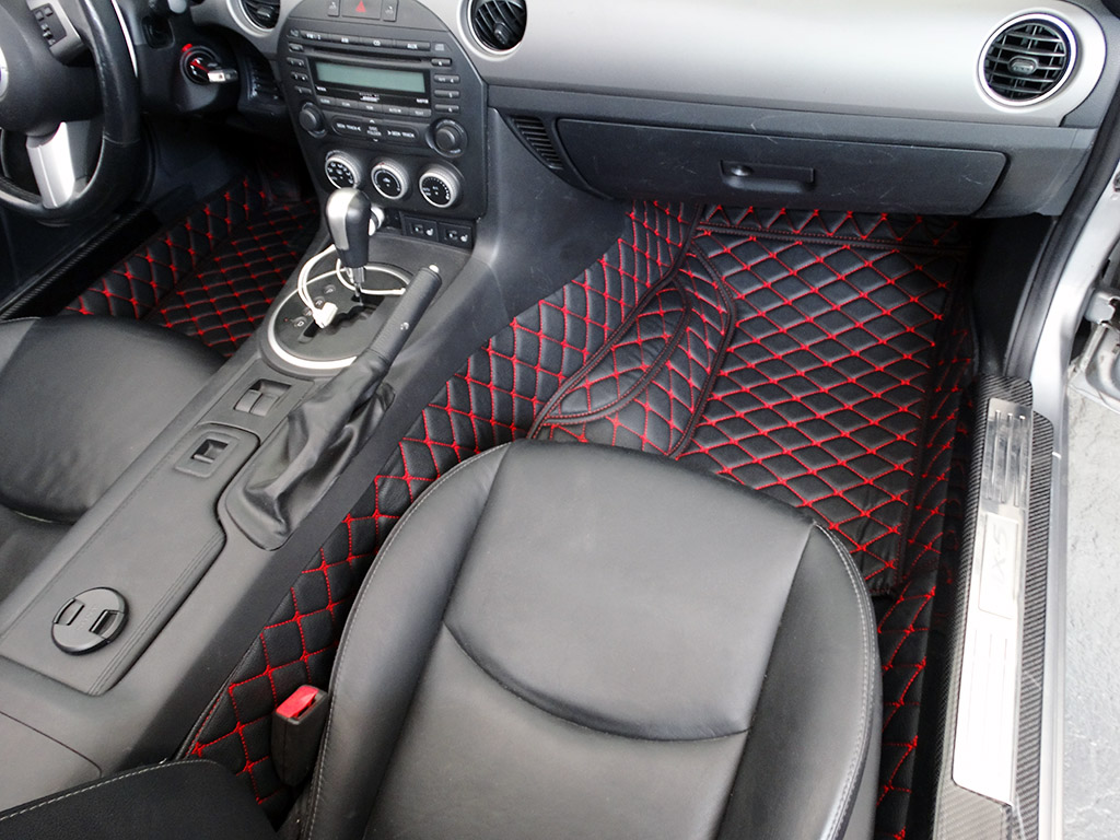 Group buy quilted leather trunk liner and floor mats for mx 5 nc mx 5 miata forum