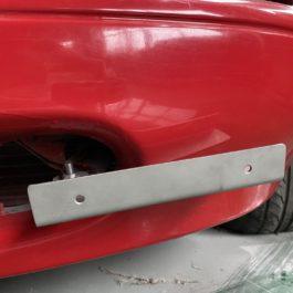 Offset License Plate Bracket For Miata NA/Mk1