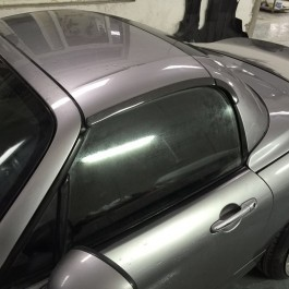 Hardtop Rain Rails (PRHT version) For Miata NC/Mk3