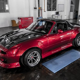 Overfenders Kit (Type 2) For Miata NA/Mk1