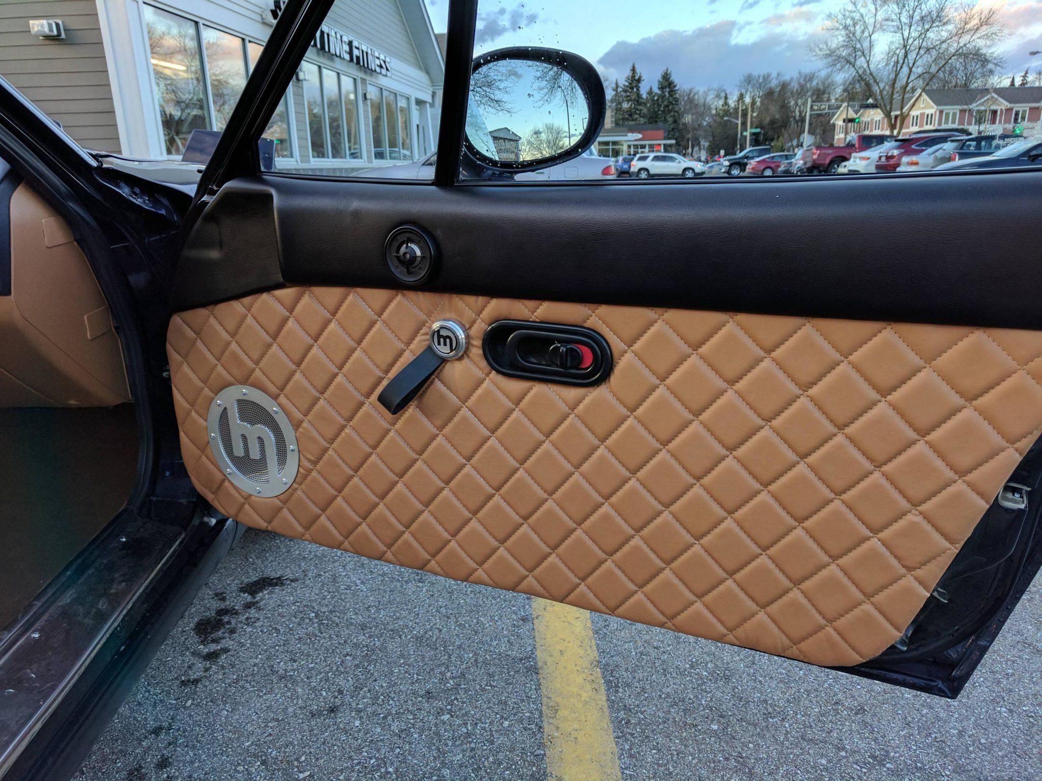 Carbon Fiber Top Door Pads For Miata NA/Mk1 - The Ultimate