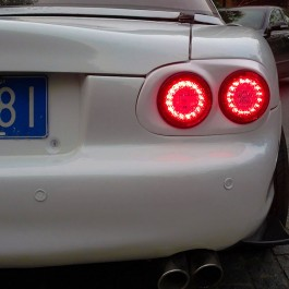 Vintage LED Dual Tail Lights