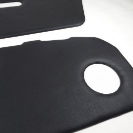 Plain Leather Door Panels