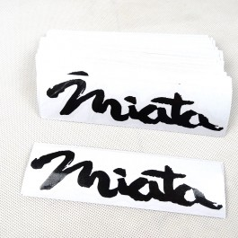 4 Stickers Pack (Vintage Mazda)