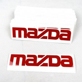 3 Stickers Pack (OEM Mazda)