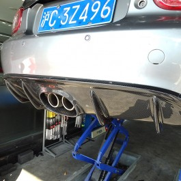 Rear Diffuser (Center Exhaust)