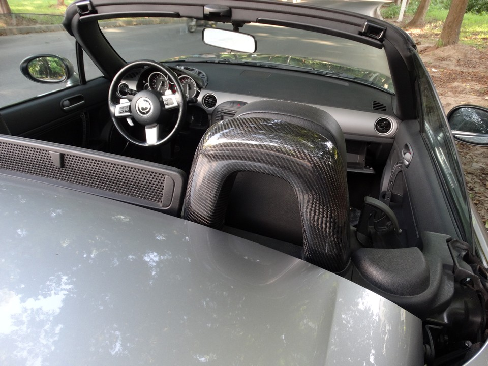 Roll Bar Hoops Covers For Miata Nc Mk3 The Ultimate Resource For Mazda Miata Parts