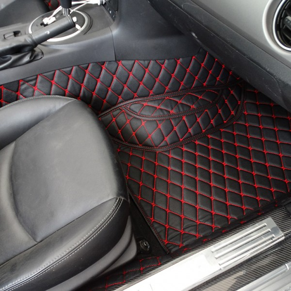 Floor Mats Quilted Design Carbonmiata