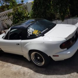Corner Flares ( Matching the Overfenders Kit Type 2) For Miata NA/Mk1