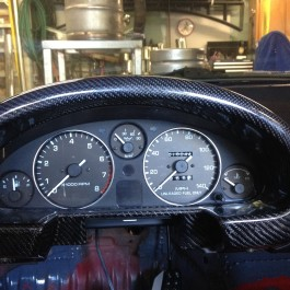 LHD Gauge Surround (NA6 Only) For Miata NA/Mk1