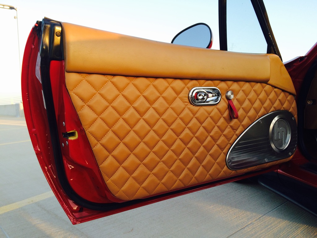 Quilted Leather Door Panels Handmade The Ultimate
