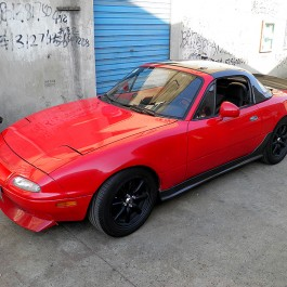 Mazdaspeed Style Side Skirts For Miata NA/Mk1