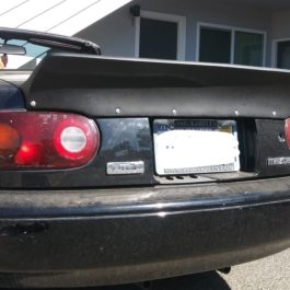 Ducktail Trunk Spoiler