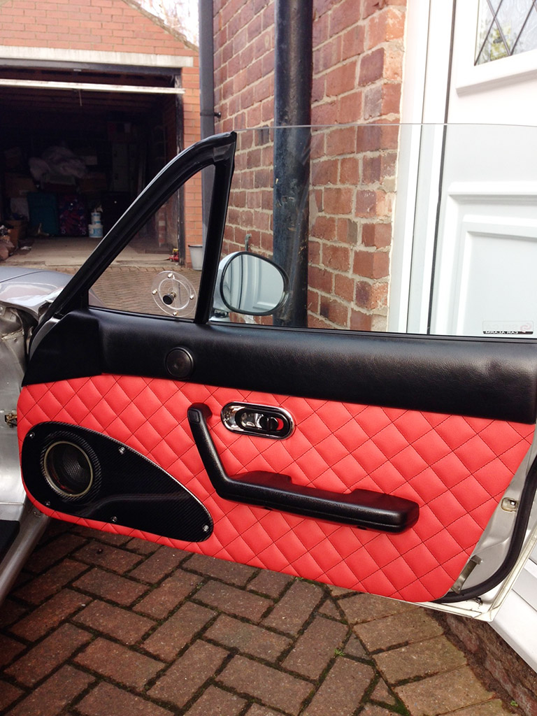 Quilted Leather Door ... & Quilted Leather Door Panels (Handmade) - The Ultimate Resource for ...