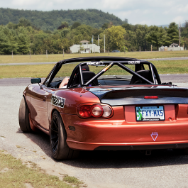 Trunk With Regular Ducktail (Type 1) For Miata NB/Mk2