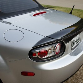 3 Pieces Trunk Spoiler (Soft Top Version) For Miata NC/Mk3