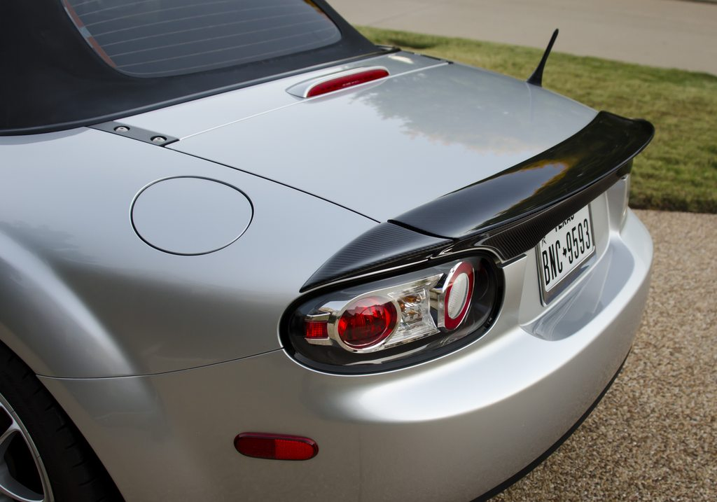 3 Pieces Trunk Spoiler Soft Top Version For Miata Nc Mk3 The Ultimate Resource For Mazda Miata Parts