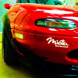 Fender Flares (Long Version) For Miata NA/Mk1
