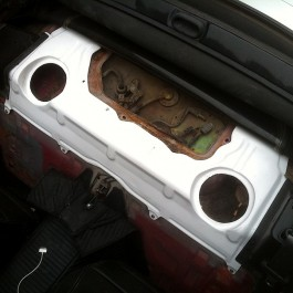 Rear Subwoofer Panel For Miata NB/Mk2