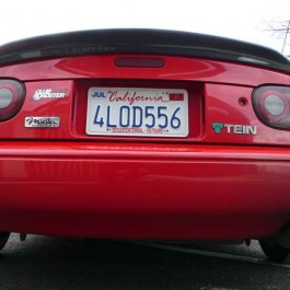 Trunk Spoiler For Miata NA/Mk1