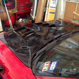AD9 Vented Hood For RX-7 FD
