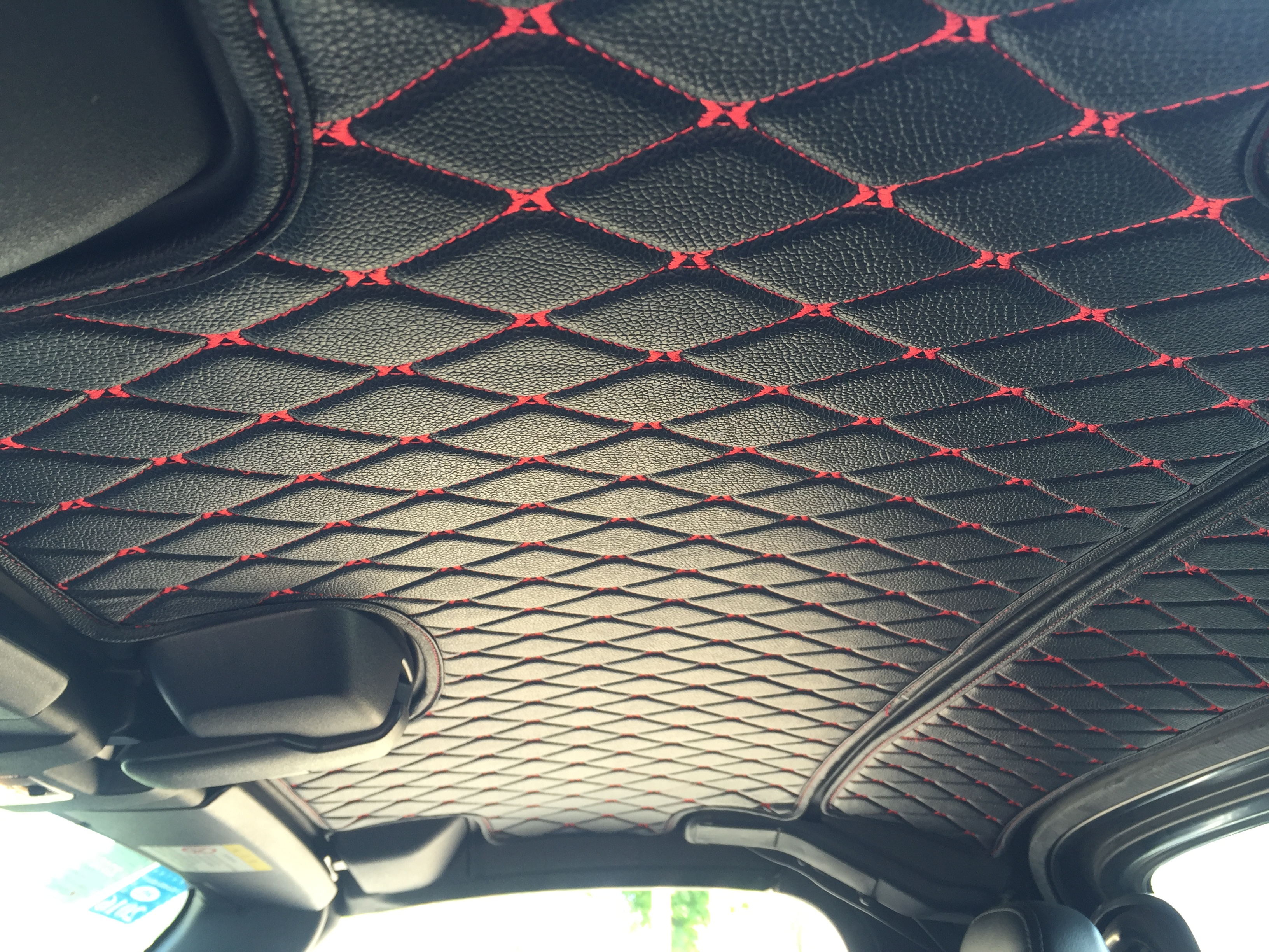 Roof liner material suede headliner upholstery fabric foam back suede jet black auto headliner Car interior ceiling fabric repair