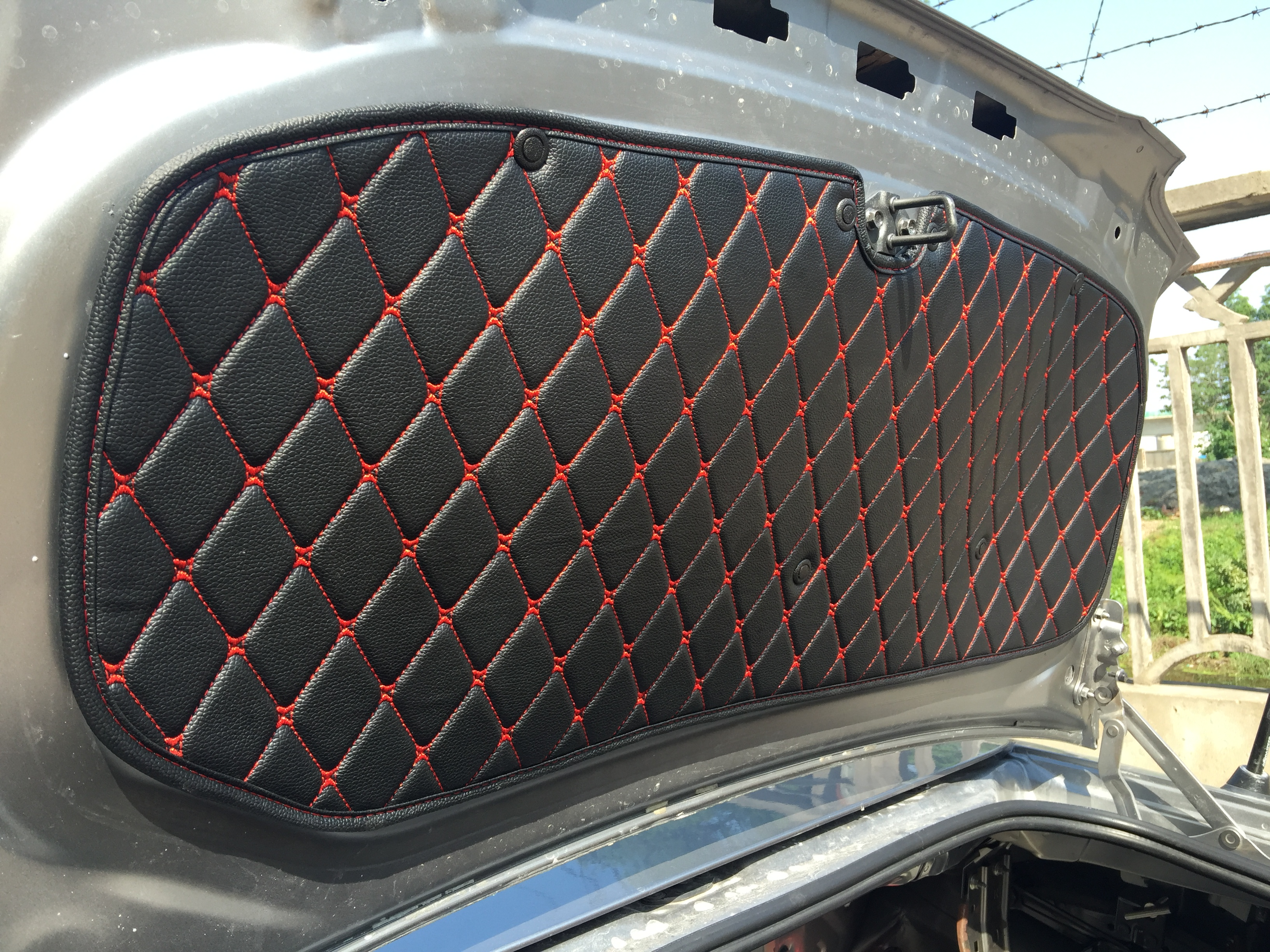 Quilted Trunk Underside Liner Premade Material The