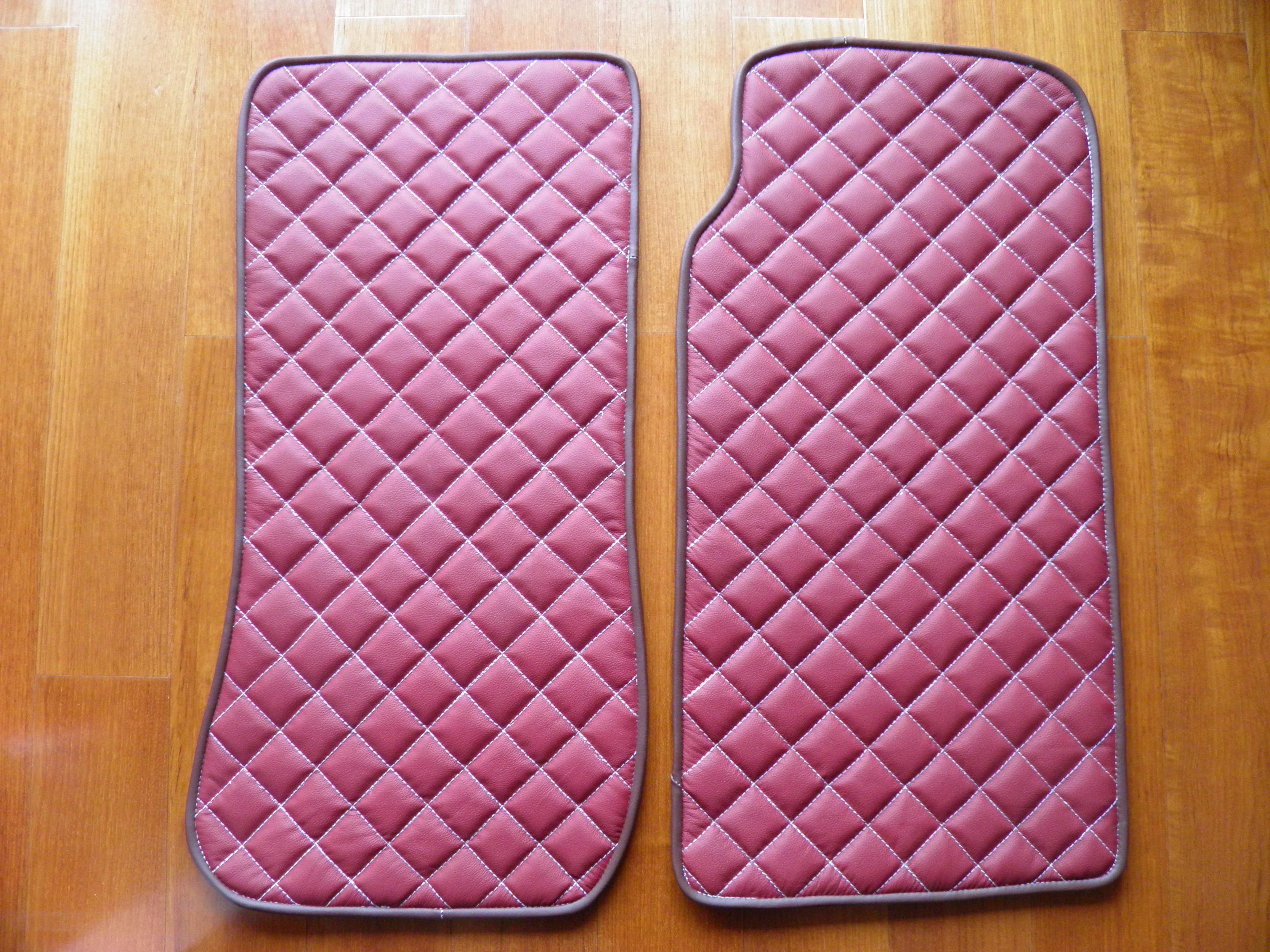 Floor Mats Quilted Design Carbonmiata