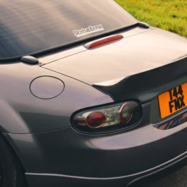 Ducktail Trunk Spoiler (Soft Top Version) For Miata NC/Mk3