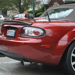Trunk Spoiler (Soft Top Version) For Miata NC/Mk3