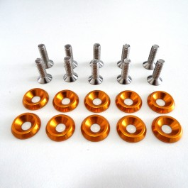 Bolts with washers x10 (M6)