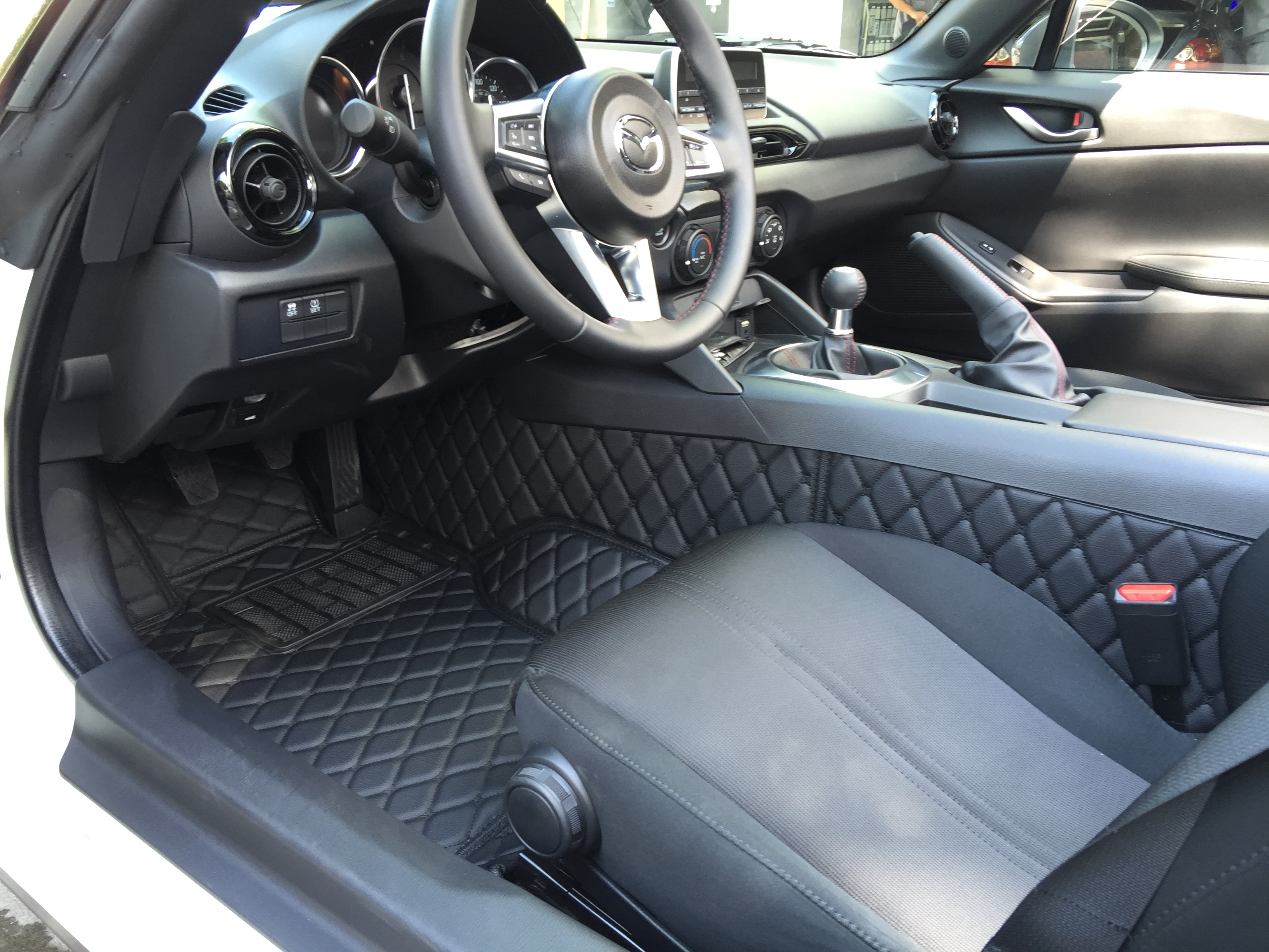 Group buy 2 quilted leather trunk liner and floor mats for miata nd st rf mx 5 miata forum
