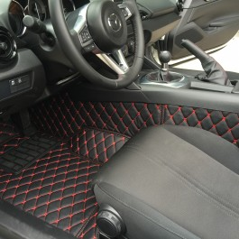 Quilted Floor mats (Premade Material) For Miata ND/Mk4