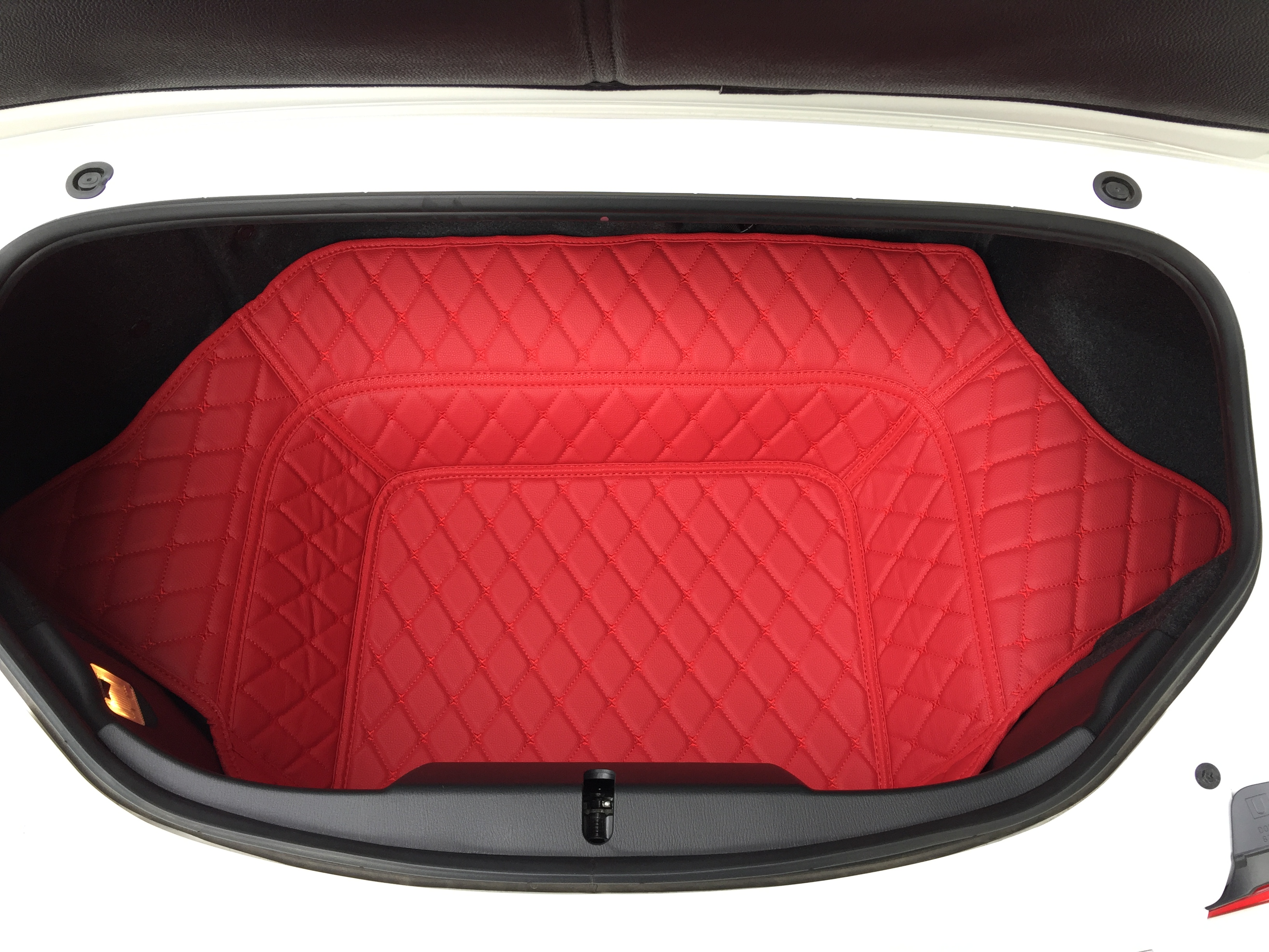 Quilted Trunk Liner Premade Material The Ultimate