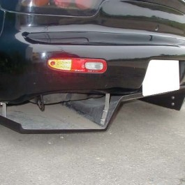 Garage Kagotani Style Rear Diffuser For RX-7 FD