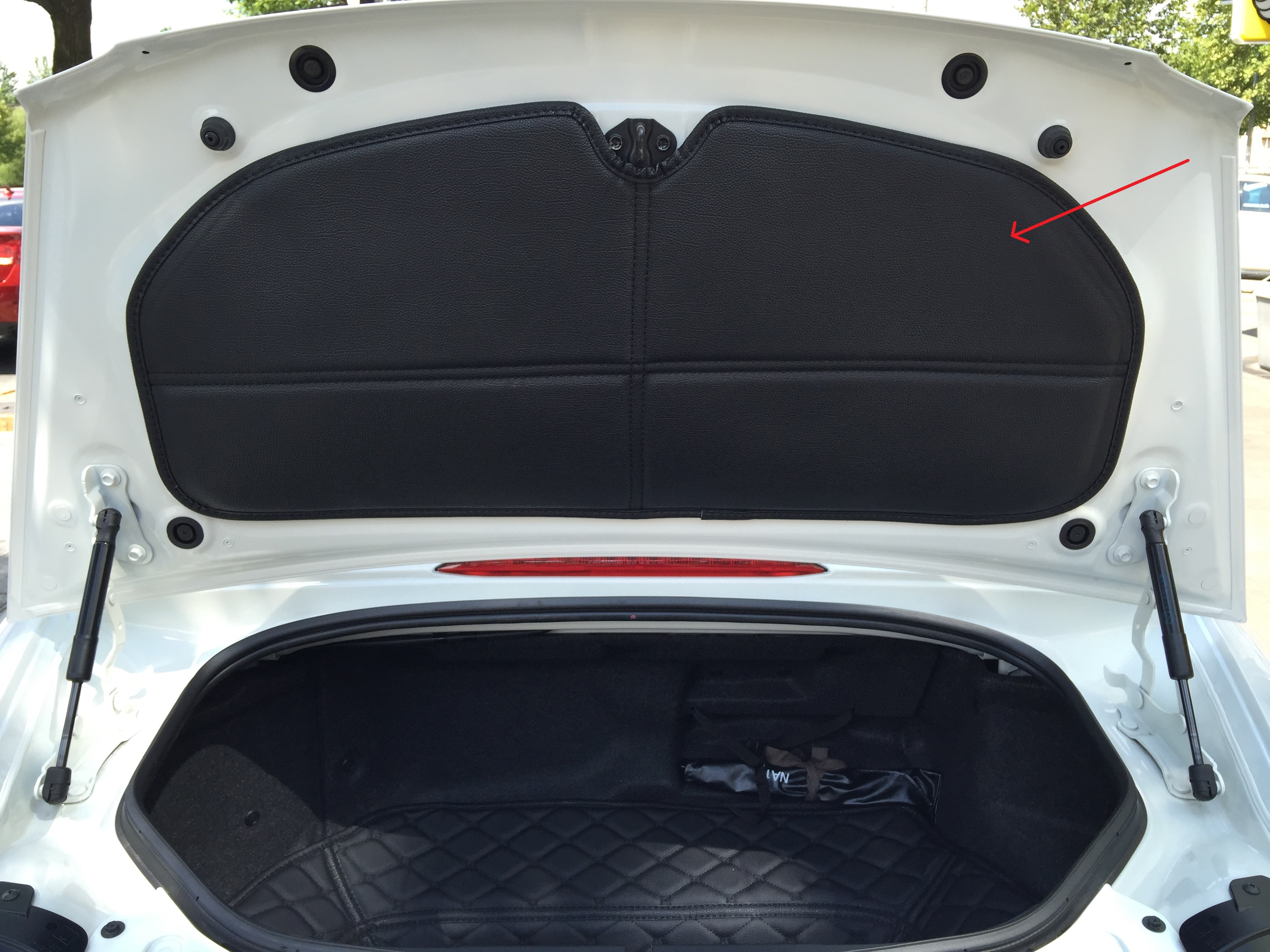 Trunk Underside Liner Premade Material The Ultimate