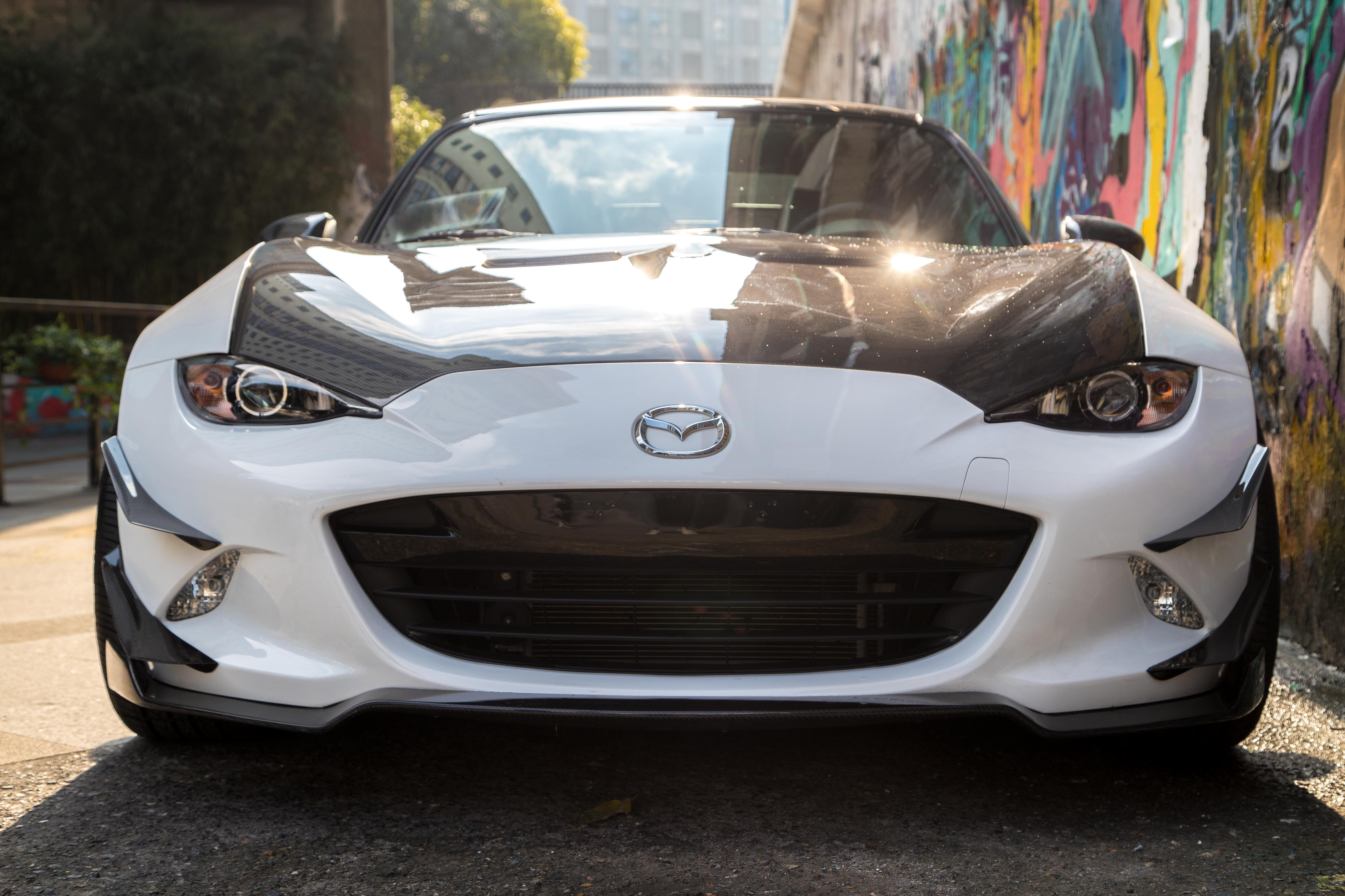 Front Canards, Front Lip And Vented Hood Can Also Work Quite Well.