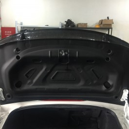 Trunk with ducktail (Soft Top Only)