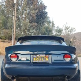 Monster Trunk Spoiler (3 Pieces) For Miata NA/Mk1