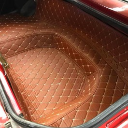 Quilted Trunk Liner (Premade material)