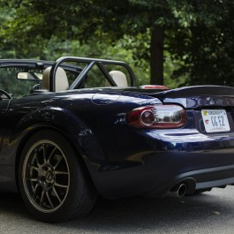 Trunk with ducktail (Soft top) For Miata NC/Mk3
