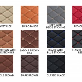 Quilted Floor mats Deluxe Version (Premade Material)