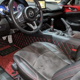 Quilted Floor mats Deluxe Version (Premade Material) For Miata ND/Mk4