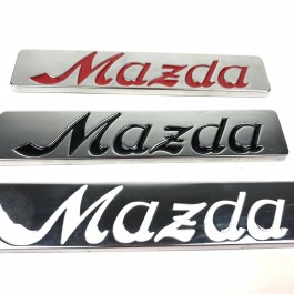 Chrome Vintage Mazda Logo (Version 2)