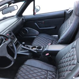 Quilted Seat Covers (Diamond Stitching) For Miata NA/Mk1