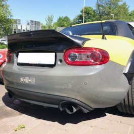 Ducktail Trunk Spoiler Type 2 (PRHT Version) For Miata NC/Mk3