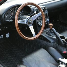 Quilted Floor mats Deluxe version (Premade material) For Miata NA/NB