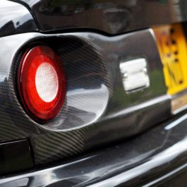 GV Style Tail Lights Rear Panel