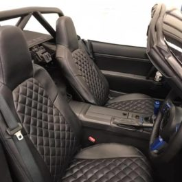 Quilted Seat Covers (Diamond Stitching) For Miata NC/Mk3