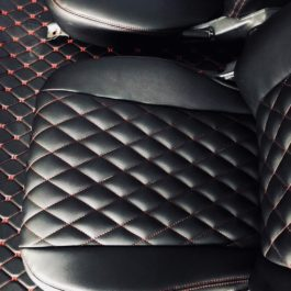 Quilted Seat Covers (Diamond Stitching) For Miata NB1/Mk2
